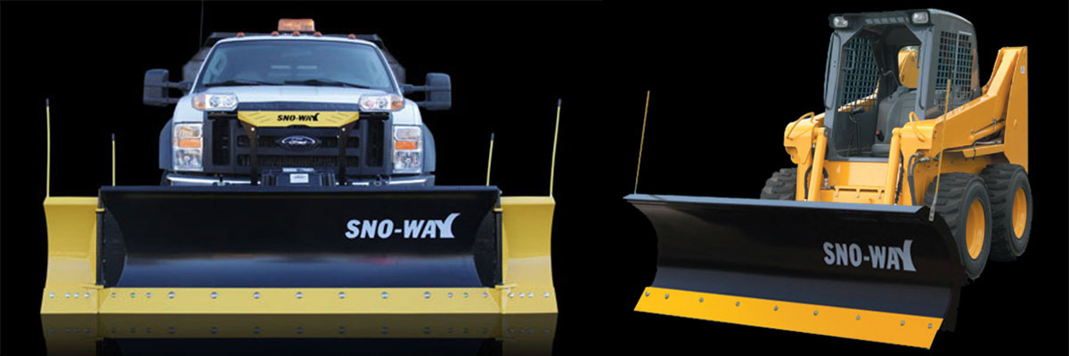 Sno-Way Truck and Skid Steer Plows